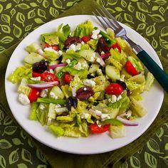 Kalyn's Kitchen®: Recipe for American Greek Salad. Check dressing for gluten.