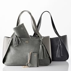promo code c9c64 b9759 New Personalized Bags   Accessories   Mark and Graham Personalized Tote Bags,  Suede Handbags,