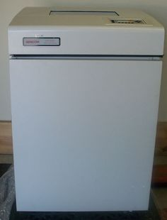 Genicom 5100 Line Matrix Printer 5000 Series High Speed 1000 LPM Quiet Cabinet ebay $199.98