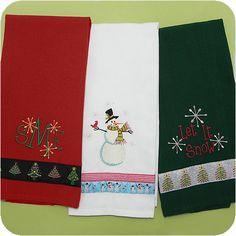 Flat+Weave+Dishtowels+-+Holiday+Colors