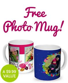 FREE Photo Mug! {just pay s/h} ~ this would make a fun, thrifty gift to stash away!