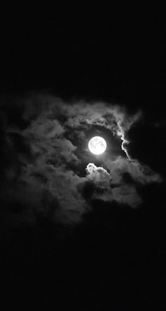 #moon #night #black #clouds #wallpaper #background #iphone