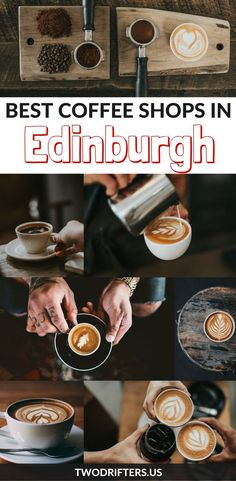 Best Coffee Shops in Edinburgh (With WiFi) Craving coffee in Edinburgh? These Scotland coffee shops will keep you caffeinated---plus there's WiFi! Scotland Travel Guide, Ireland Travel, Best Coffee Shop, Coffee Shops, Scotland Food, Scotland Trip, Scotland Sightseeing, Craving Coffee, Coffee Around The World