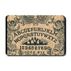 Door Mats by Shayne of the Dead, occult, day of the dead, skulls, demonic(multiple listings) op Etsy, 38,95 €