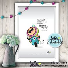 Poster, Quote Poster, Printable Poster, Instant Download, Kawaii Poster, Printable Quote, Wall Art, Inspirational Quote, Cute Poster, DIY