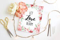 Wedding sign Wedding print DIY printable Home by Papierscharmants