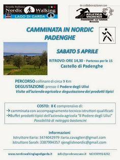 FIT Nordic Walking: percorsi di benessere - Brescia - Vallesabbia - Lago di Garda Nordic Walking, South Africa, Events, Health, Health Care, Salud
