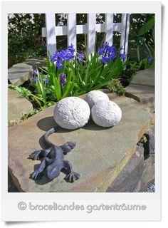 Broceliandes Gartenträume : Garten - Deko | Deko Draußen ... Pflanzgefase Aus Moos