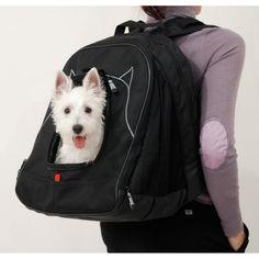 Mochila p/Llevar a tu Perro en la Espalda - Pet at Work de Petego                                                                                                                                                      Más