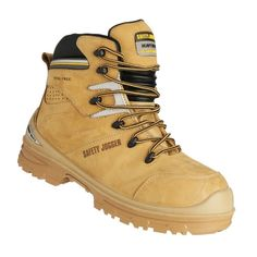 Safety Jogger Ultima S3 Heat Resistant Hi-Cut Safety Shoes (Beige) | Lazada PH