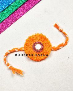 Punekar Sneha Rakhi Making, Easy, Crafts, Manualidades, Handmade Crafts, Craft, Arts And Crafts, Artesanato, Handicraft