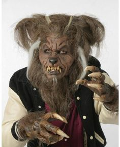 Hombre Lobo Mask - Costume Accessory.Every full moon you will transform! By far the best Wolfman mask on the market today. Snug fitting latex mask so your eyes look as if they are part of the mask. Hombre Lobo Mask - Costume Accessory consists of a latex mask with attached hair.Price: $92.88