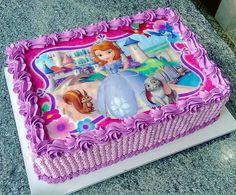 Bolo da vi Mermaid Birthday Cakes, Moana Birthday Party, Mermaid Cakes, Cool Birthday Cakes, Bolo Panda, Sofia Cake, Pirate Ship Cakes, Simple Cake Designs, Homemade Carrot Cake