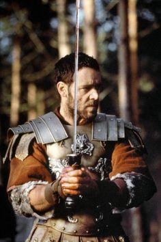 """Russell Crowe spielte in dem Film """"Gladiator"""". Gladiator Maximus, Gladiator Movie, Gladiator 2000, Gladiator Quotes, Gladiator Armor, Movies Costumes, Movie Stars, Movie Tv, Eight Movie"""