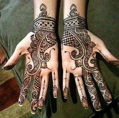 Latest 16 Beautiful Bridal Mehndi Designs for Full Hands ...