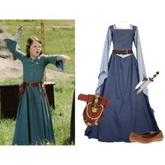 The Lion the Witch and the Wardrobe: Lucy Pevensie Character Inspired Outfits, Disney Inspired Outfits, Disney Outfits, Medieval Clothing, Medieval Outfits, Narnia Costumes, Renaissance Festival Costumes, Vintage Dresses, Nice Dresses
