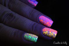 Esmaltes da Kelly: Unhas de poá neon! My Nails, Polish Nails, Nail Polishes, Manicure, Make It Simple, Hair Beauty, Nail Art, Neon, My Style