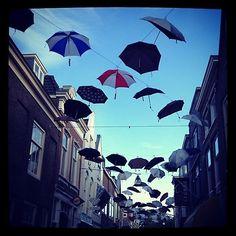En de Vriesestraat in Dordrecht maakt haar belofte waar! Foto via Caroline Dauphin. Mooi toch?