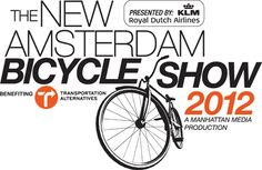 amazing typography in the AMSTERDAM bicycle show in NYC
