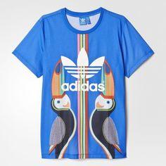 adidas - Camiseta Tukana Trefoil Farm