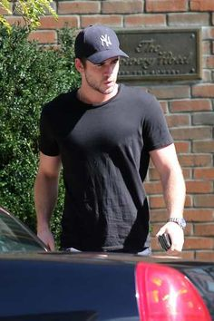 4a19495dfa9  LiamHemsworth is spotted leaving the  BoweryHotel in New York City on  September 29
