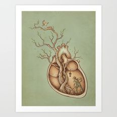 Art Print featuring Tree Of Life by Enkel Dika