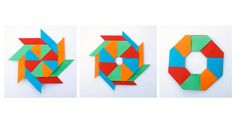 Origami Magic Star Ring :: Estrella-Anillo Modular folded by Leyla Torres