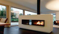 Für große Räume perfekt als Raumteiler geeignet. Der Kaminofen als Durchsichtkamin. Wäre das interessant für Dich? Sieh Dir den Ofen an.