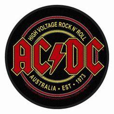 ACDC High Voltage Rock n Roll Aufnäher | 2820