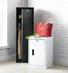 Large locker for laundry room storage