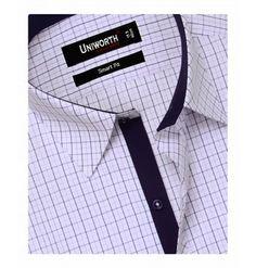 Purple & Lilac Check Shirt