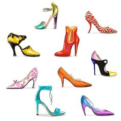 Shoes, #shoes and more #shoes👠 what to wear? Lot of #styles  #fashion #hautecouture  daily #inspiration #accessories #shoewear #fashiondesigner #fashionblogger #drawing #picture #artist #sketch #sketchbook #instafashion #artsy #instaart #instagood #masterpiece #creative #photooftheday #instaartist #graphic #fashionillustration #artoftheday soon available on #art #print by #lindazoon #hoogstraat