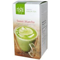 Rishi Tea,  Japanese Green Tea, Sweet Matcha