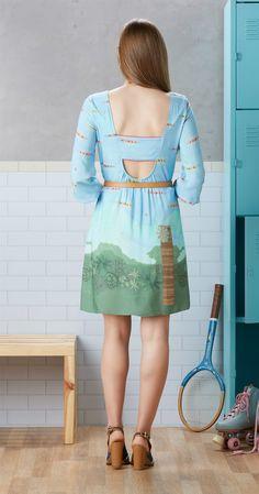 Só na Antix Store você encontra Vestido Canoagem com exclusividade na internet