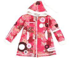 Sorgt im Herbst und Winter für gute Laune! Süßer Mantel der Marke #girlsinharmony in Größe 110-116.
