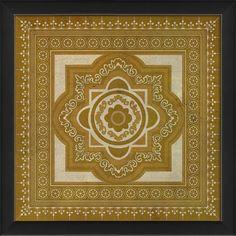 Tile 6 Framed Graphic Art