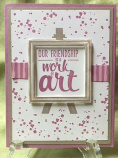 Stamp with Anna, Stampin Up, Artist's Palette Birthday Kids, New Catalogue, Big Shot, 30 Day, White Ink, Washi Tape, Stampin Up Cards, Whisper, Painters