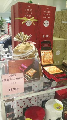 Disney Toaster / Press Sand Maker / Mickey Toaster (Disney for Franc Franc Japan)