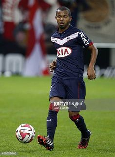 Mariano Ferreira Filho of Bordeaux in action during the French Ligue 1 match between Stade de Reims and FC Girondins de Bordeaux at the Stade Auguste...