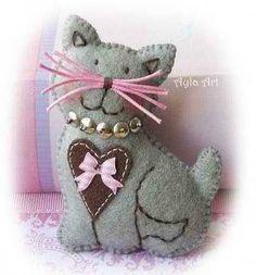 broche gatito
