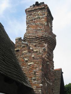 A whimsical Storybook chimney