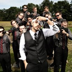 This is a shot of a groom & groomsmen & guns, & it makes me want to get married.   http://www.reddit.com/r/pics/comments/vh4k9/my_groomsmen_photo_i_think_you_can_guess_my/