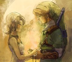 Day fourteen: favorite part. My favorite part was in Twilight Princess when Ilia got her memory back. It was just a very happy time for Link, Ilia, and me. :)