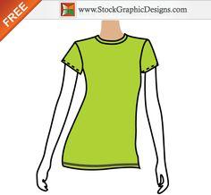 t shirt template pinterest template