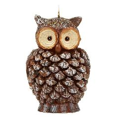 Buy John Lewis Rural Owl Candle from our Home & Garden range at John Lewis & Partners. Candles Online, Christmas Crackers, Caramel Apples, John Lewis, Owl, Birds, Christmas Ornaments, Holiday Decor, Stuff To Buy