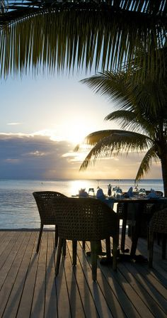 ...a sunset dinner....simply gorgeous