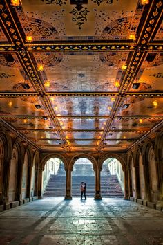 The tunnel . Bethesda Fountain . NYC