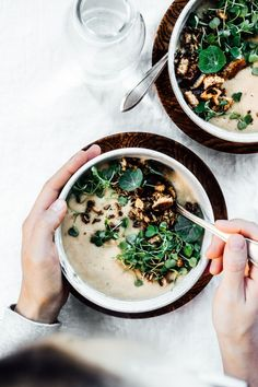 White Bean and Fennel Soup / Tending the Table / Food Photography Soup Recipes, Whole Food Recipes, Vegetarian Recipes, Cooking Recipes, Healthy Recipes, Fennel Soup, Healthy Soup, Soup And Salad, Food Inspiration