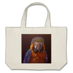 Blue and Gold Macaw on your bag