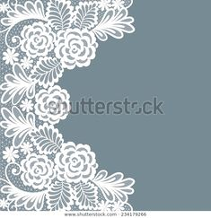 Lace Patterns, Flower Patterns, Embroidery Patterns, Doilies Crafts, Lace Doilies, Paper Lace, Lace Tattoo, Ceramics Projects, Pattern Images